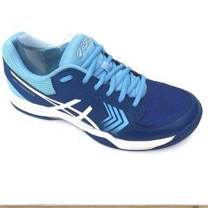 Dedicate Gel Tennis Shoes Royal Blue